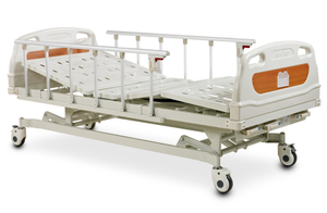 3 alta calidad inestable y cama de hospital manual barata